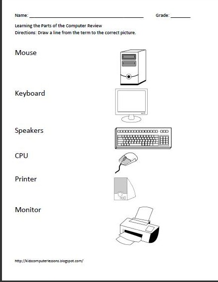 Worksheets Computer Technology Worksheets free computer worksheets delibertad delibertad