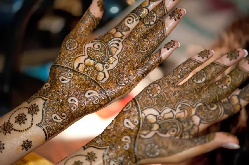 Mehndi Designs Dulha Dulhan : Alluring mehndi designs dulha dulhan