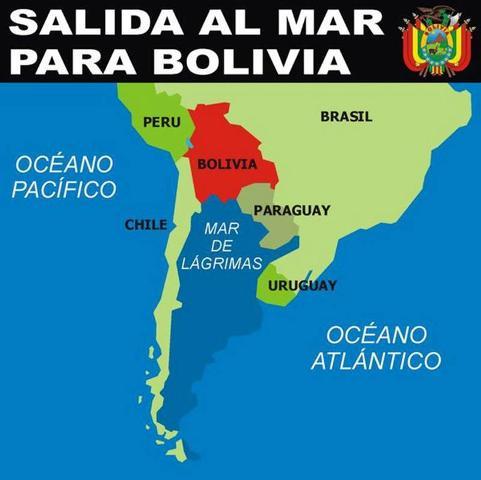 Intelectuales de Chile y Perú apoyan la salida boliviana al mar