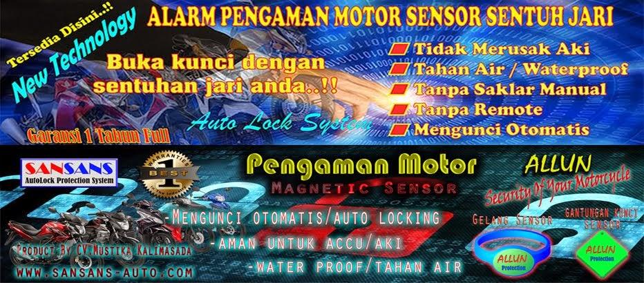 SANSANS Motor Protection System - Alarm Pengaman Motor Sensor Sentuh