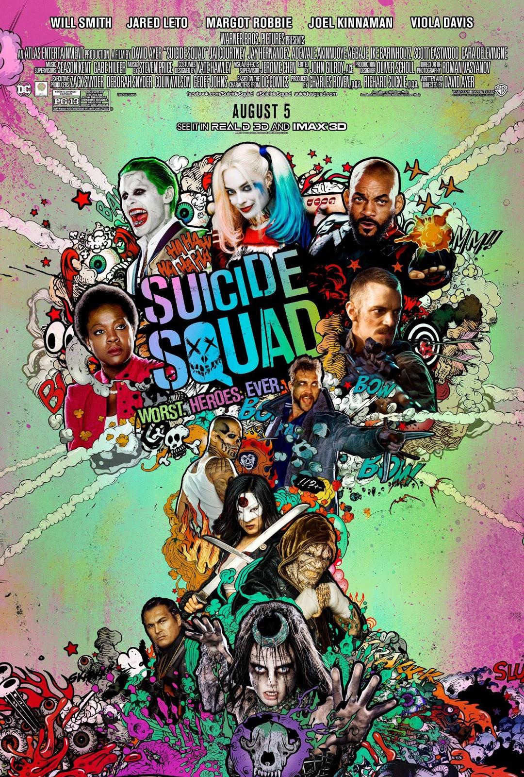 Escuadrón Suicida (2015) (Suicide Squad)