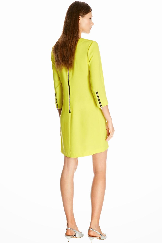 warehouse yellow dress