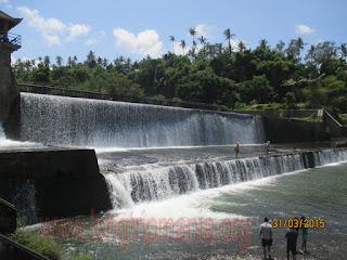 Tempat Wisata Bendungan Tukad Yeh Unda Klungkung  Bali