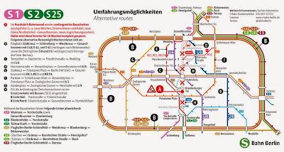S-Bahn: Sanierungsarbeiten im Berliner Nahverkehr Nord-Süd-Tunnel der S-Bahn wird von Januar bis Mai gesperrt, aus Berliner Zeitung