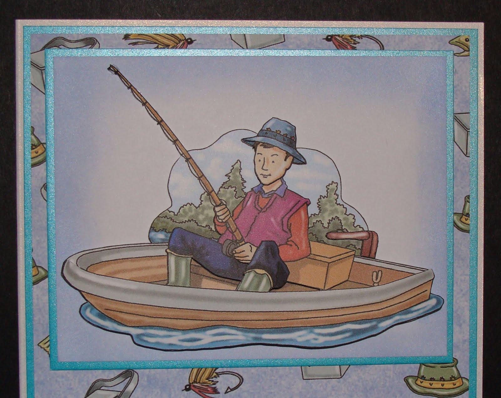 Terrific Delphinoids Cards And Craft Fishing Birthday Card Funny Birthday Cards Online Benoljebrpdamsfinfo