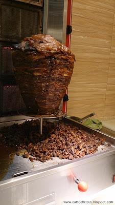 La Fiesta at MOA shawarma