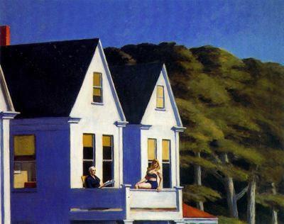 Luz del sol en el segundo piso, 1960. Edward Hopper