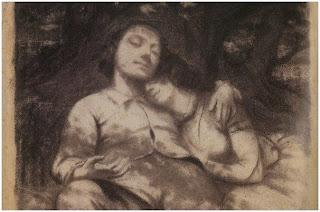 Historia del hombre herido de Courbet