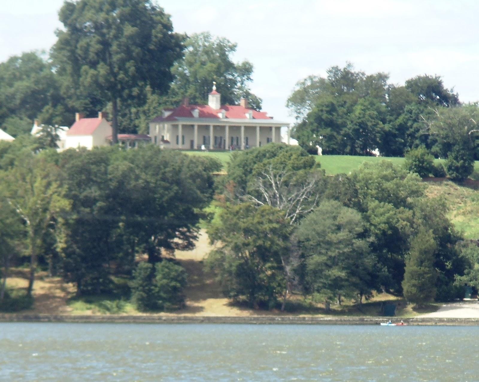Rear view of Mount Vernon
