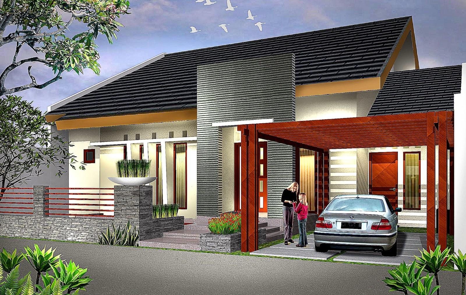 Gambar Model Rumah Type 36 Sederhana Minimalis Modern 2015
