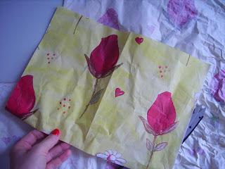 recycelt papier basteln