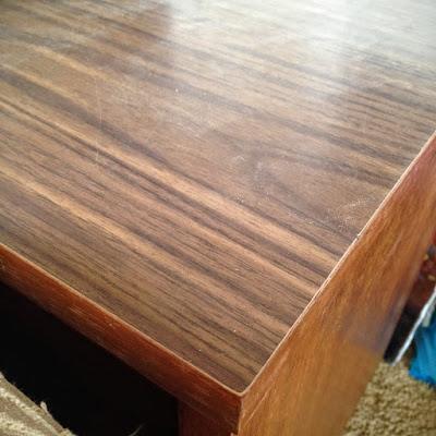 MCM dresser with laminate top
