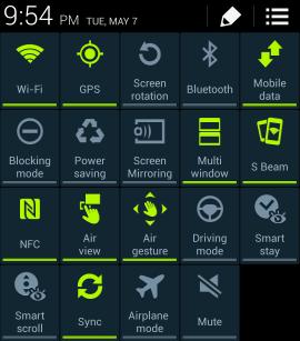 Tắt tính năng không cần thiết của Galaxy S4