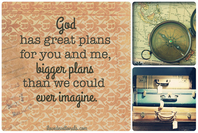 God can do more than we can dream or imagine