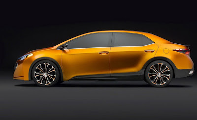 Toyota Furia Concept 2014 Toyota Corolla Sedan