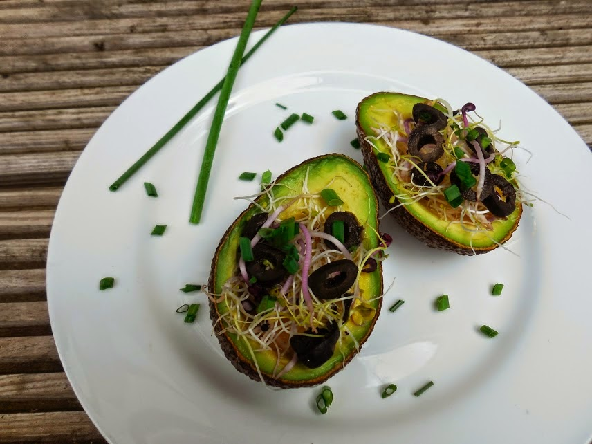 Baked Avocado By Welcome to Mommyhood #paleo