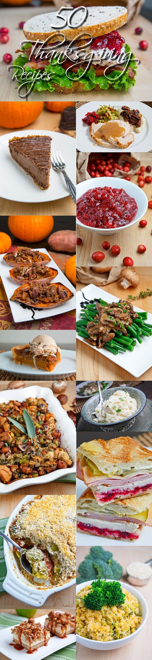 50 Thanksgiving Recipes