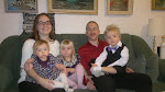 Familjebild julen 2012