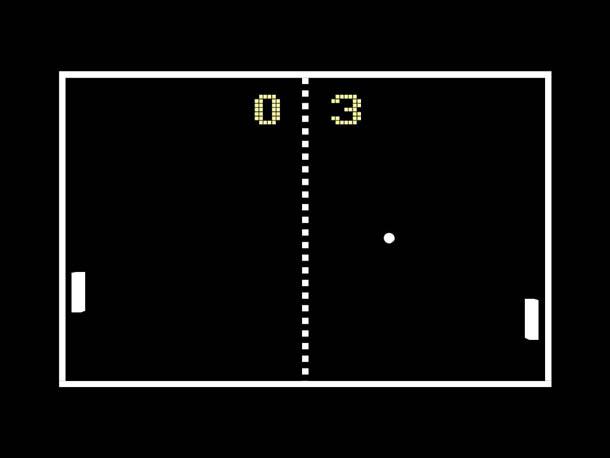 história dos videogames - pong