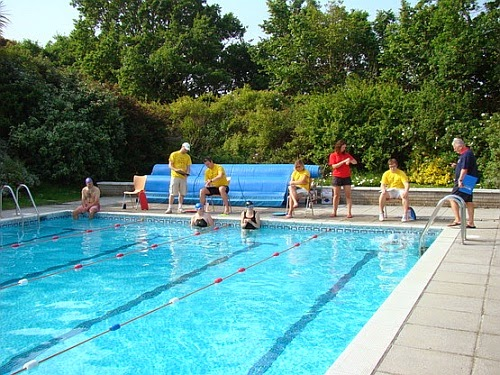 The Exeter Blog Summer Has Landed At The Exeter University Outdoor Swimming Pool