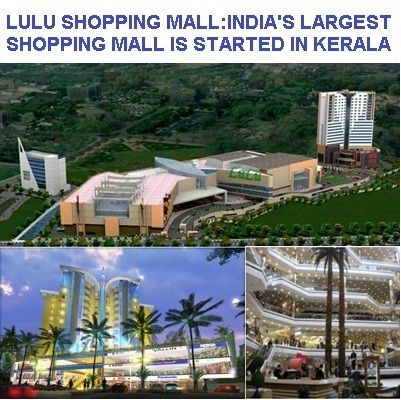 Lulu shopping mall, India's Largest shopping mall started