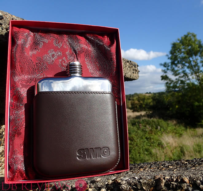 Beautifully Designed, Luxury Hip Flask from SWIG Review
