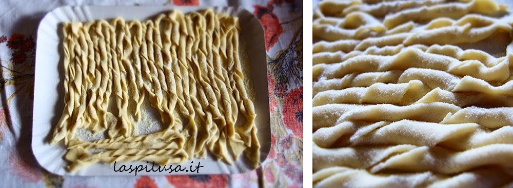 sagne torte ncannulate pasta fresca