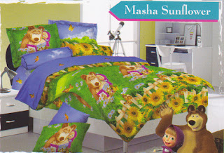 Sprei Love Story Masha Sunflower