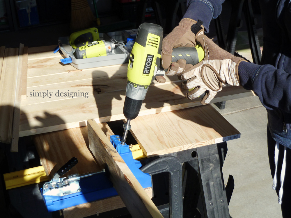 DIY Pallet Board | how to make your own pallet board with a Kreg Jig | #diy #palletboard