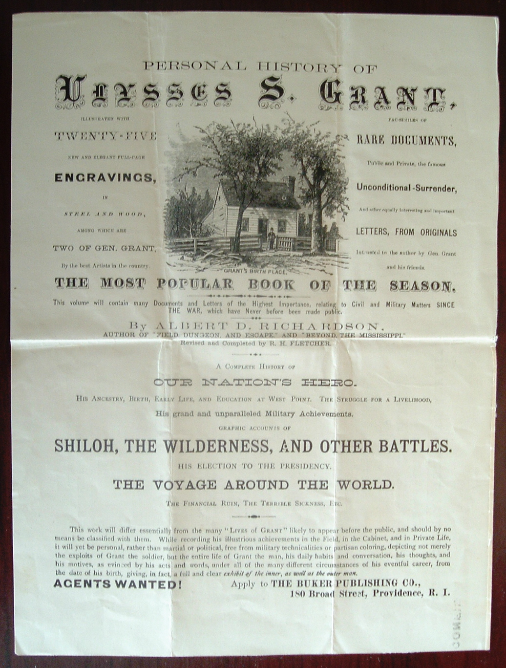 Personal history of ulysses s grant