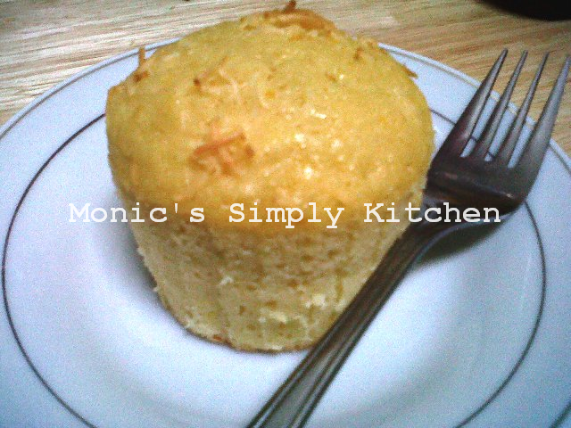 Muffin Keju Lemon Segar