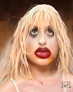 SO last week the subject was Courtney Love. I did this about an hour and a .
