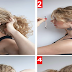 Bungee Ponytail In Curly Hairstyle Tutorial For Long Hair