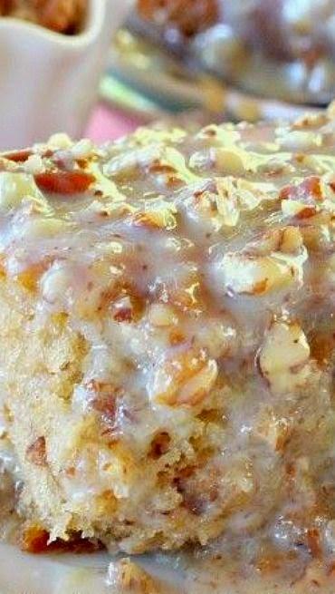 Southern Praline Pecan Cake Recipe — Dishmaps
