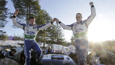 RALLY-Latvala domina Suecia