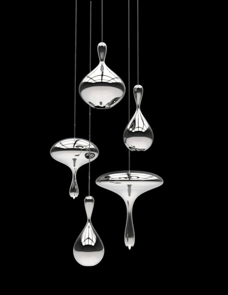 Lámparas Lava Drops de Alvaro Uribe Design