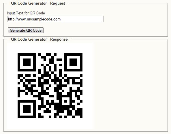 Generate QR code using Java