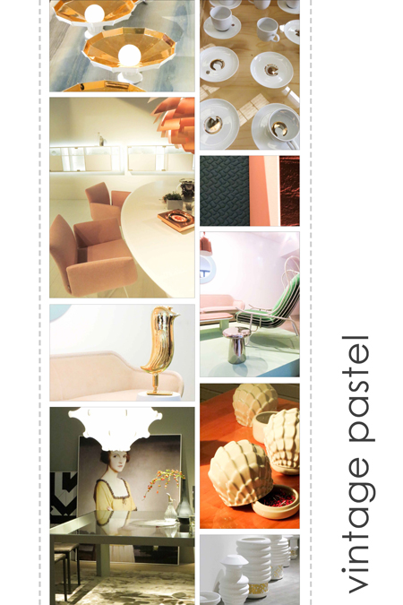 PURE styling: interieur trend pastel vintage