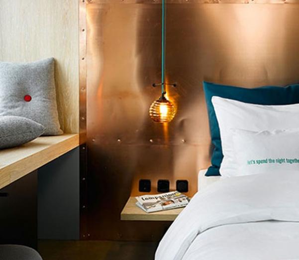 copper bed frame
