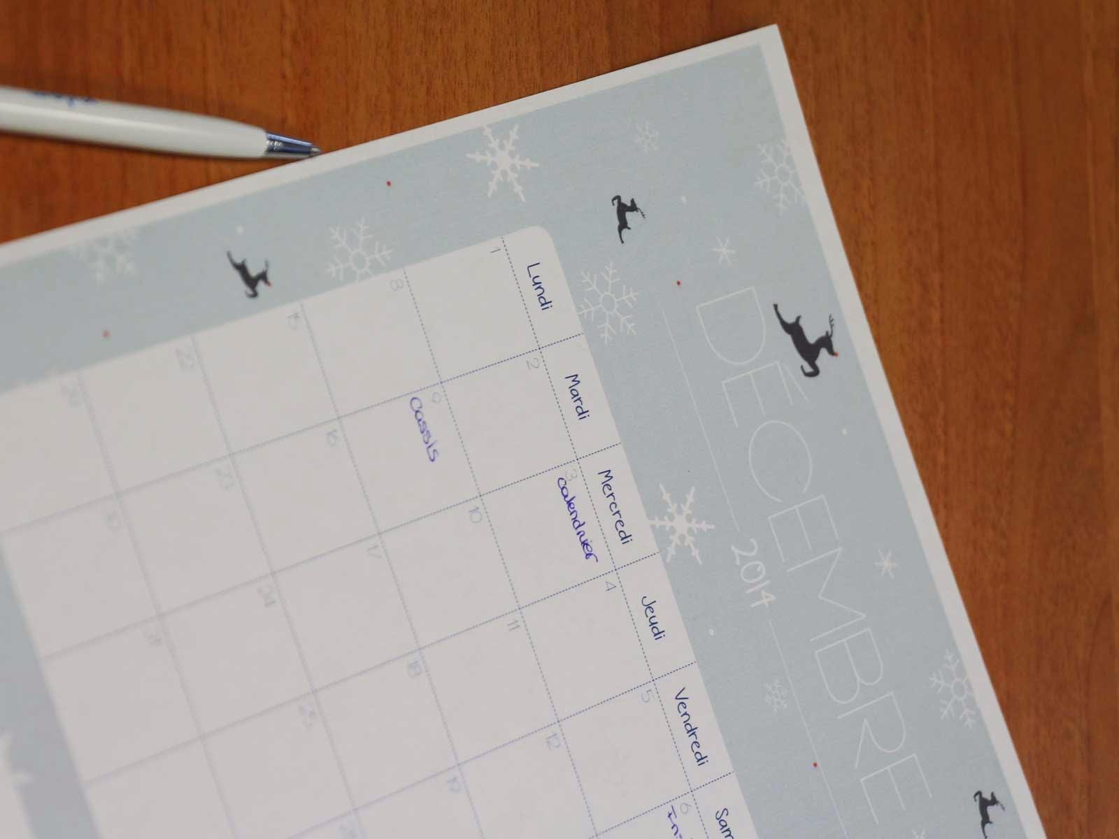 Laitfraise creation - calendrier gratuit