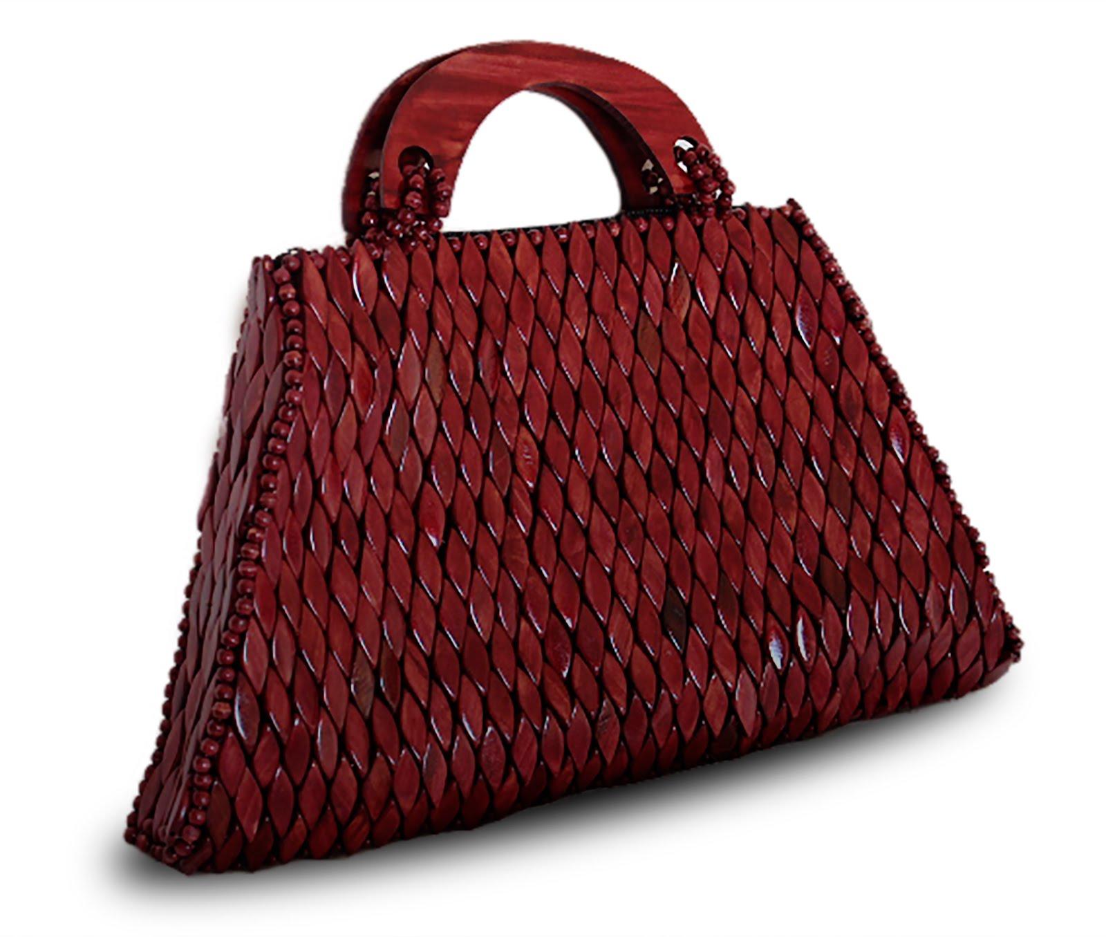 Handtaschen aus Holz