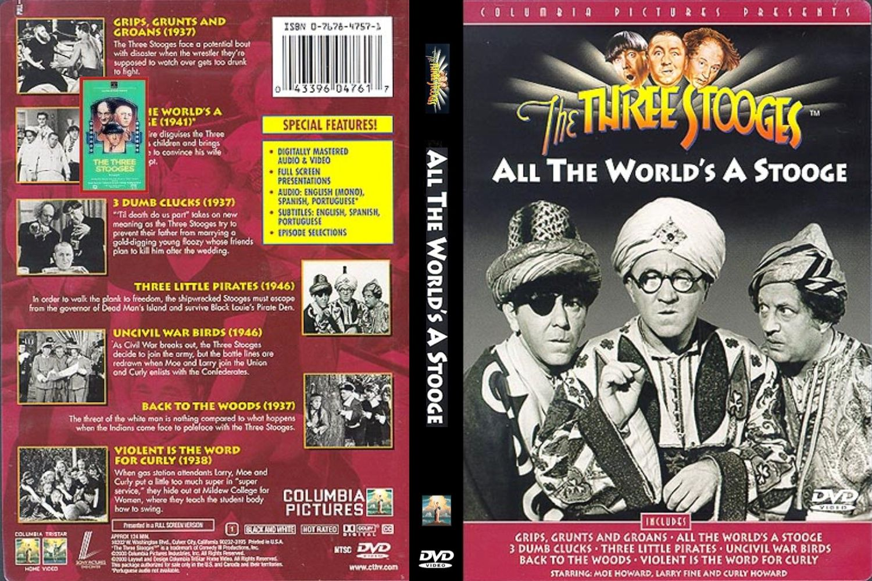 Los Tres Chiflados - Coleccion Dvds (12) [Mega]