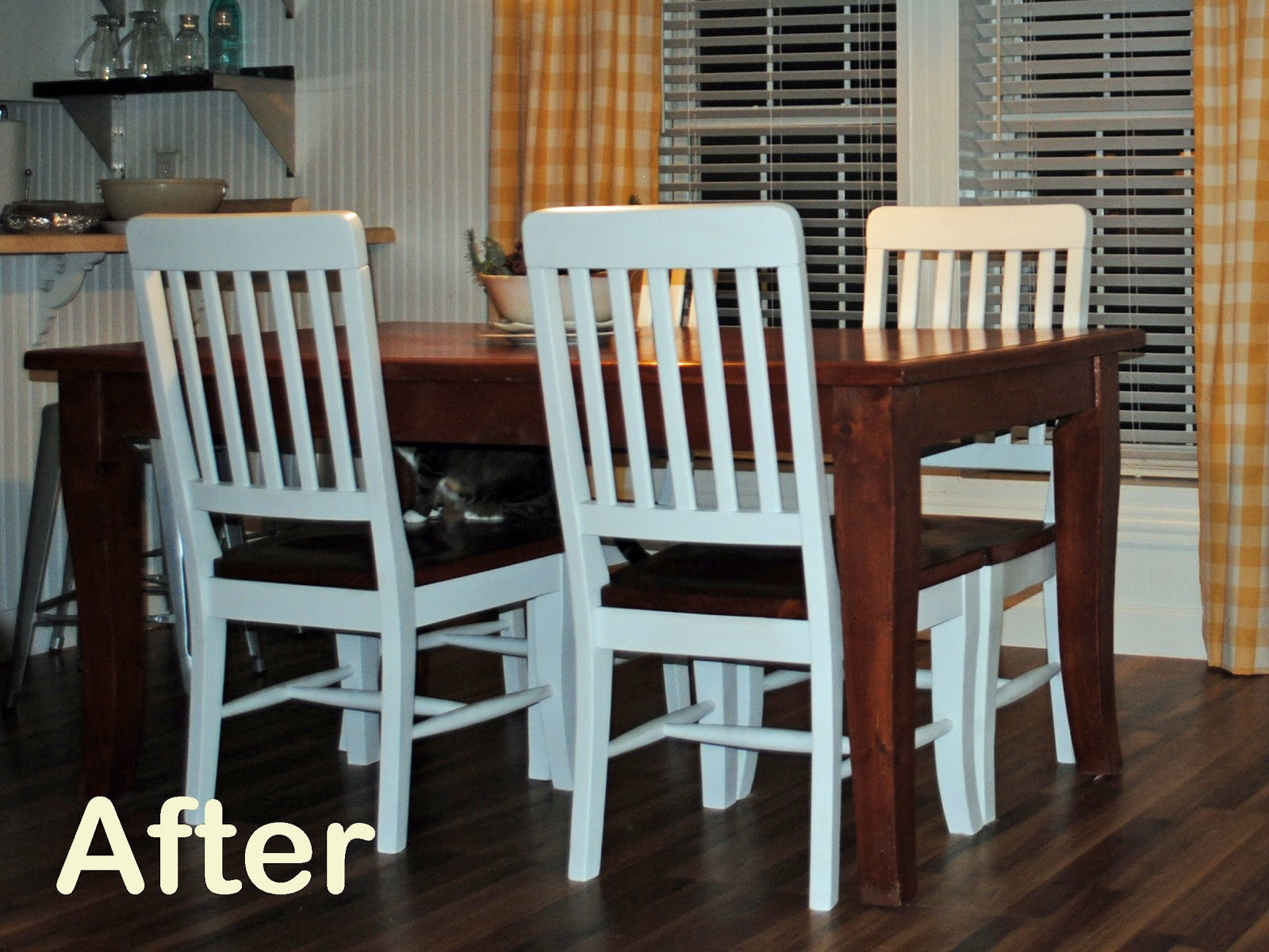 Runs with Scraps...: Refinish an Old Knotty Pine Dining Table: The Story