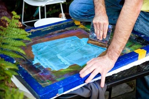 Belajar Silk Screen Printing Mudah