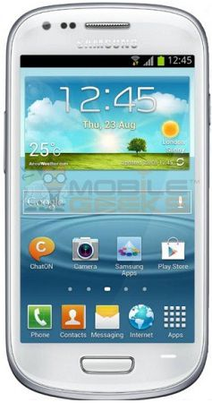 Galaxy S III mini photo and specs leaked, shows dual-core CPU and Jelly Bean