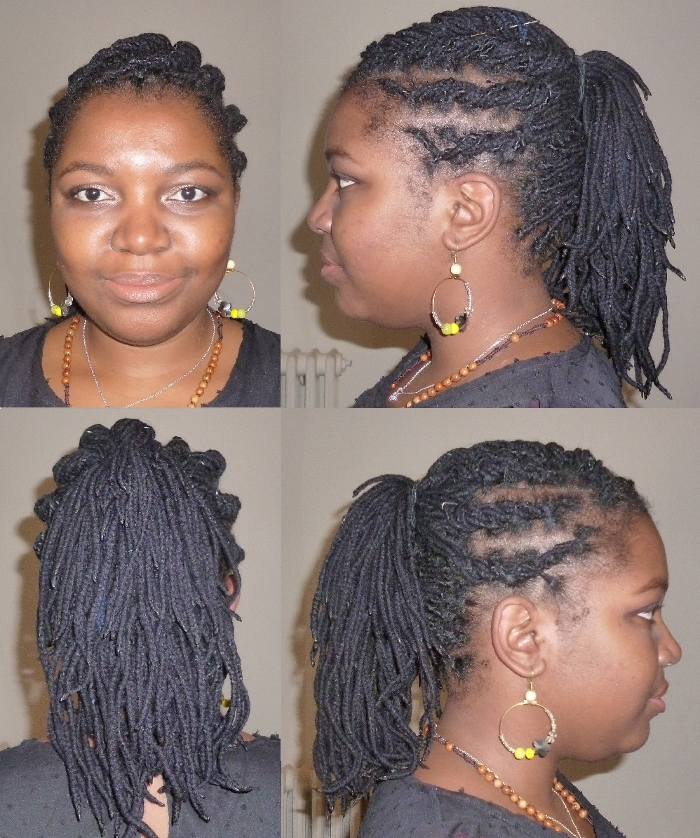Tresse africaine natte coll - Tresse colle pour petite fille ...