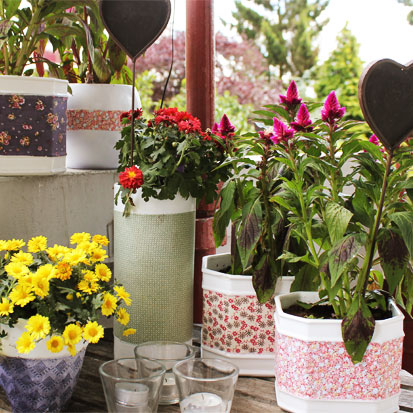 Restyled Flowerpots