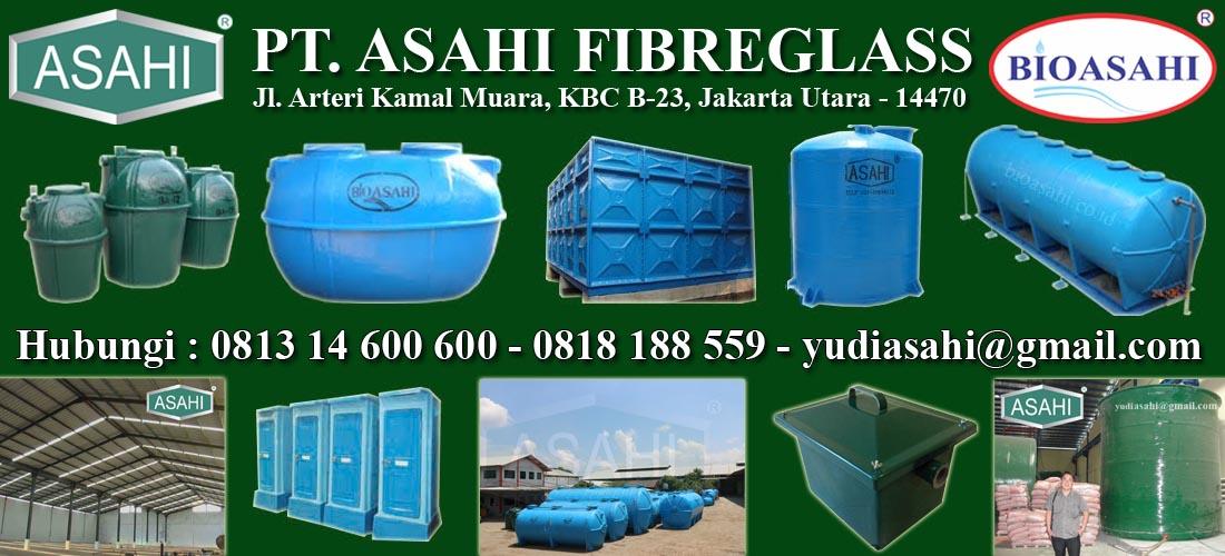 Septic Tank, IPAL, STP, Roof Tank, Tangki Panel, Toilet Portable, Tangki Kimia, Atap, Fiberglass