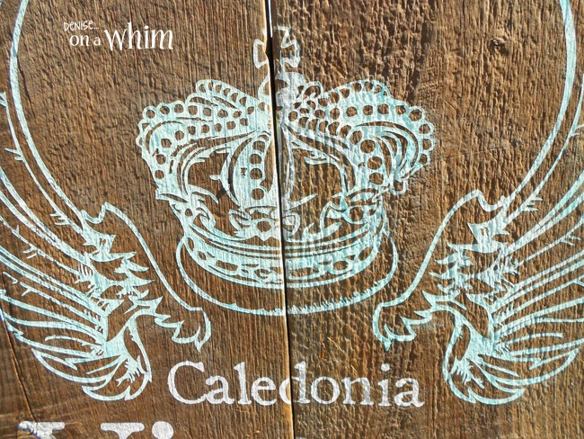New Signs for Caledonia Vintage Marketplace | Denise on a Whim