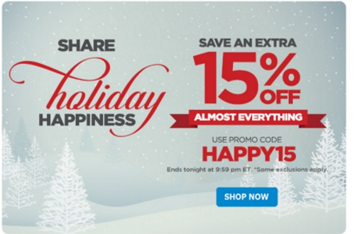 The Shopping Channel Flash Sale Extra 15% off Everything Promo Code